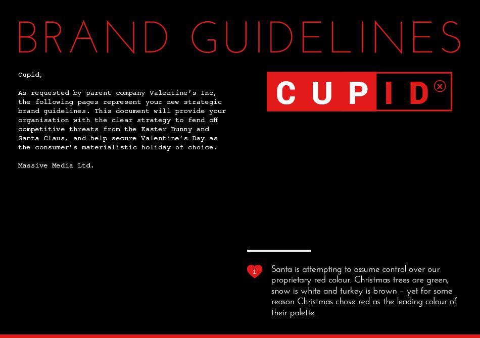 cupid brand book by cayman creative agency