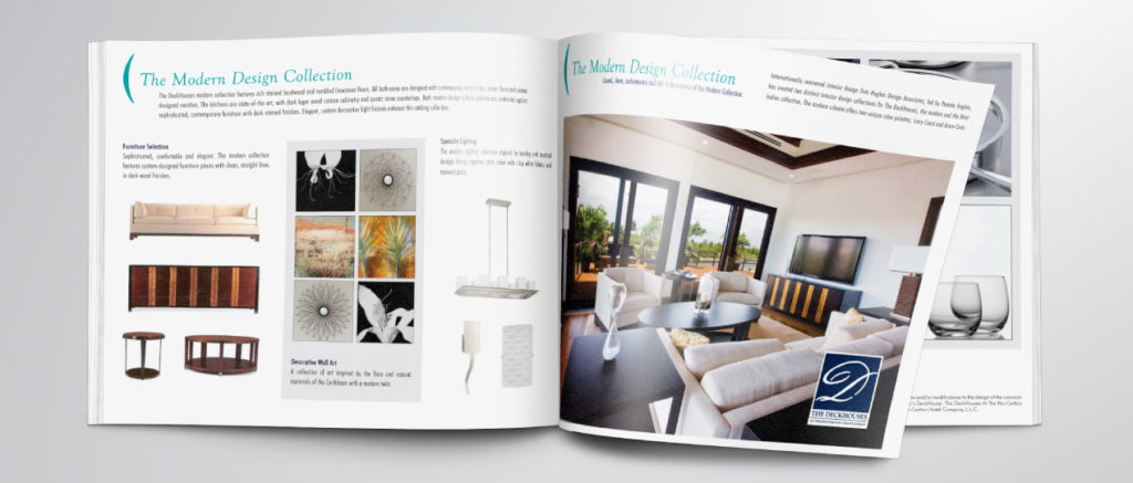 Creation of sales and supporting materials for the luxury Deckhouse development in Grand Cayman