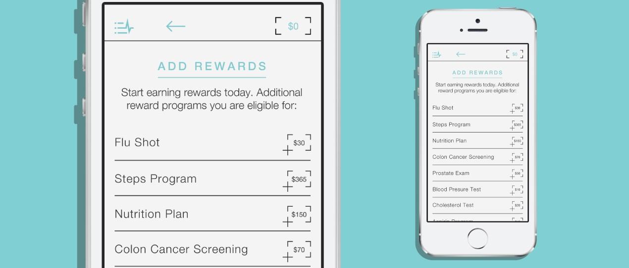 Wellth mobile app design