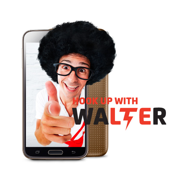 Hook Up with Walter Campaign for Digicel Cayman Islands