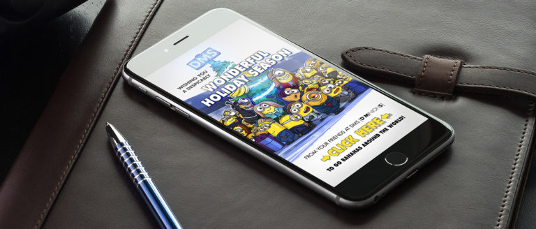 DMS Minions - Art. Web Design.