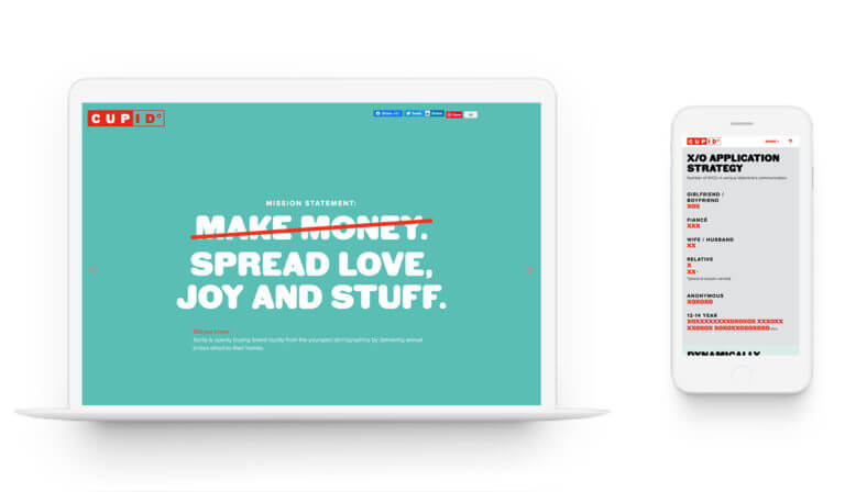 Cupid's Brand Guidelines - Brand Guidelines. Strategy.