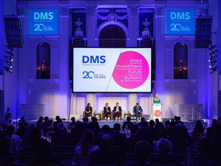 DMS 2020 Investment Funds Summit - Event Design. Creative.