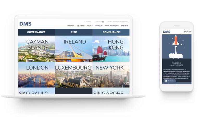 DMS Governance - Marketing Retainer. Rebrand. Web Design.