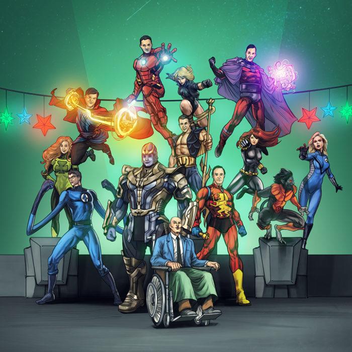 DMS Superheroes