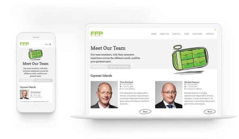 FFP - Web Design. Illustrations.