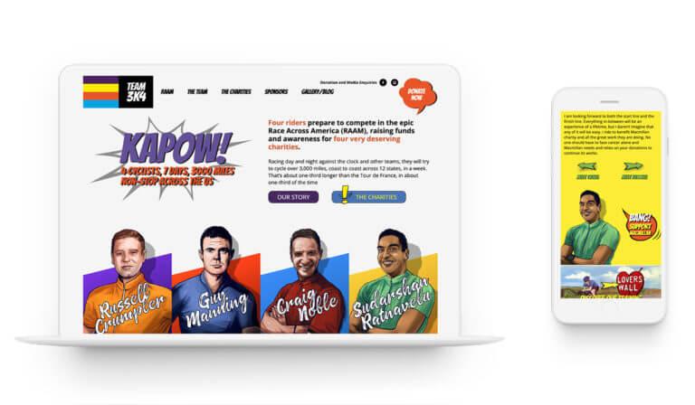 Team 3k4 - Branding. Illustrations.