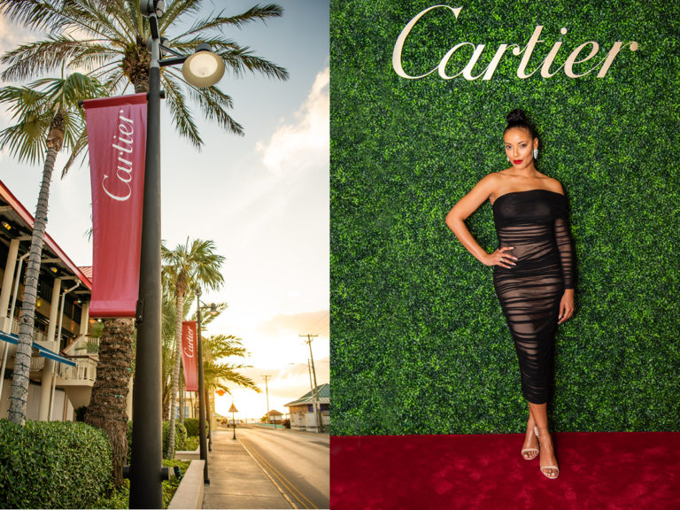 Kirk Freeport - Cartier Boutique Grand Opening - Event Design. Creative.