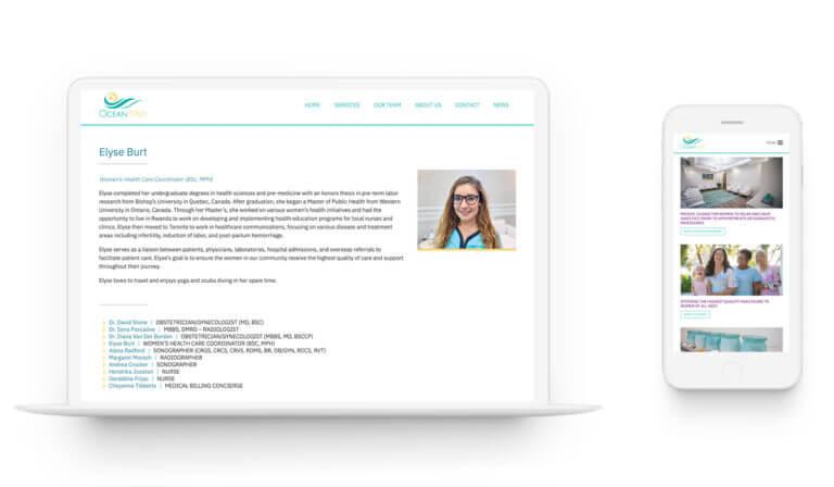 OceanMed - Branding. Web Design.